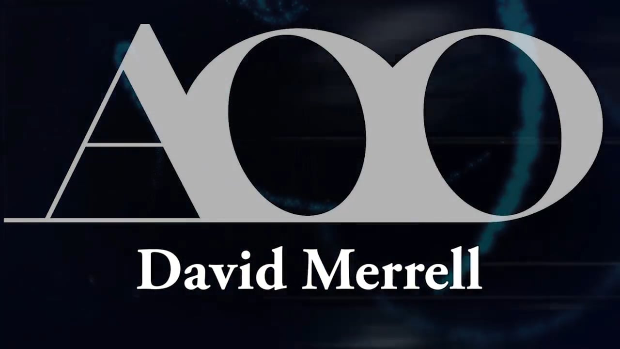 David Merrell of AOO Events ~ Platform Speaker Introduction