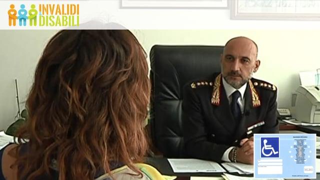 Contrassegno invalidi: intervista Col. Donato Zacheo, comandante Vigili Urbani Lecce
