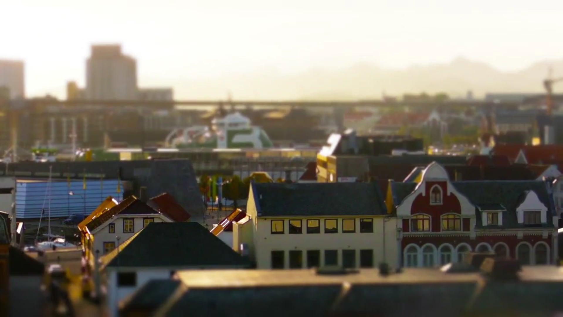 Mini Norway - a Tilt Shift Movie by Davide Vasta