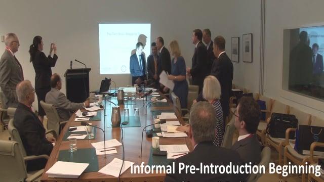 Informal Pre-Presentation Greetings