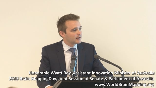 The Honorable Wyatt Roy, MP:  Innovation and commercialization in Australia