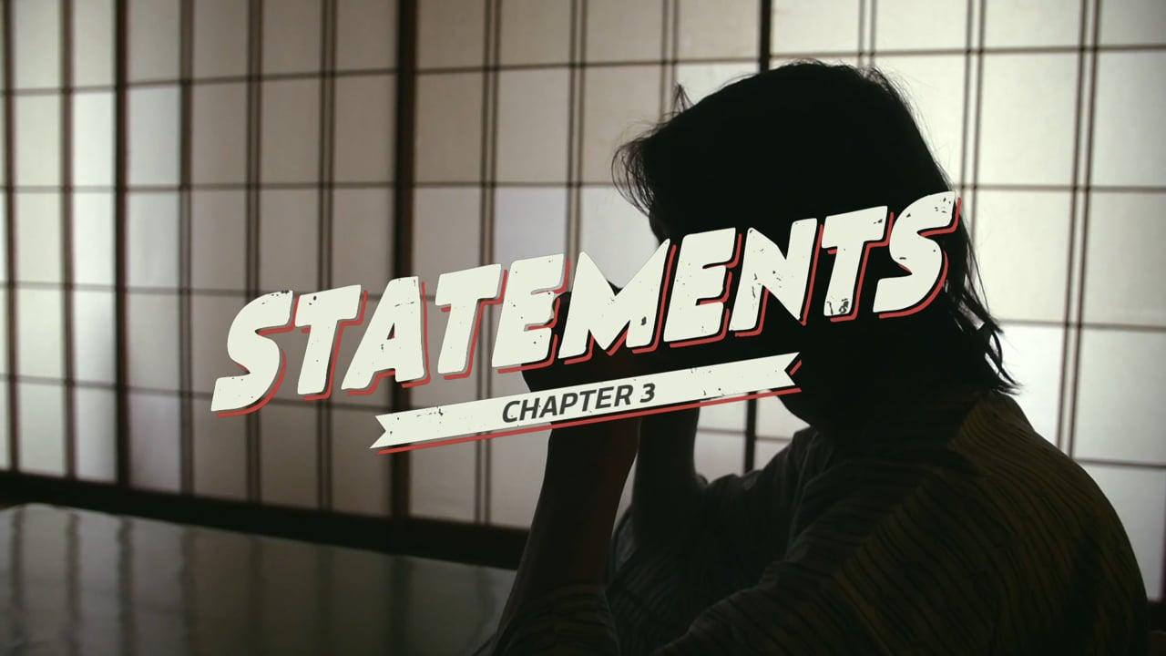 STATEMENTS - TURNING & BURNING