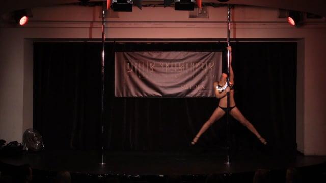 Pole Theatre Sweden 2015- Semi Pro Classique Marie Kolstrup