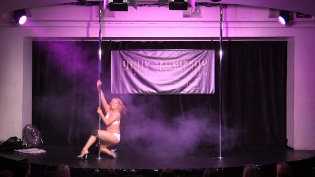 Pole Theatre Sweden 2015- Semi Pro Classique Linda Liljestig