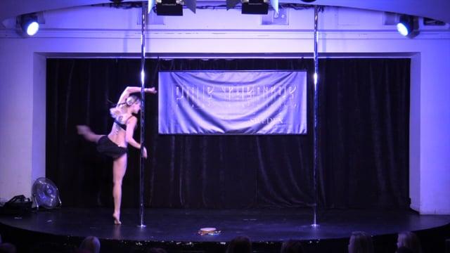 Pole Theatre Sweden 2015- Semi Pro Art Ekaterina Dipman