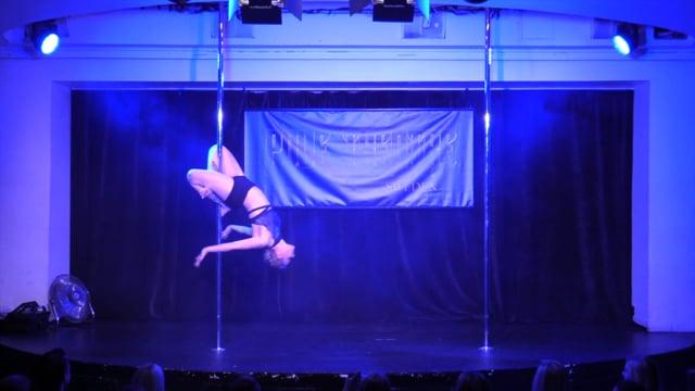 Pole Theatre Sweden 2015- Amateur Pole Drama Pia Eklund