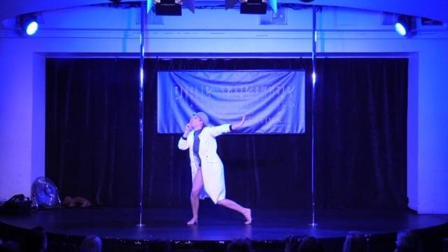 Pole Theatre Sweden 2015- Amateur Pole Comedy Anna Skoot