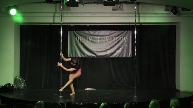 Pole Theatre Sweden 2015- Semi Pro Art Julie Bjanes