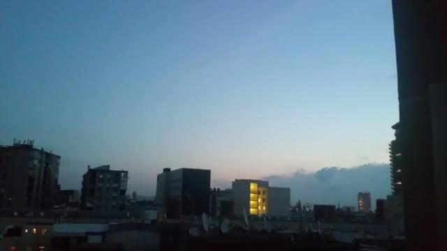 Filmo des del meu balcó. Bhavya, Institut Milà i Fontanals (Barcelona)