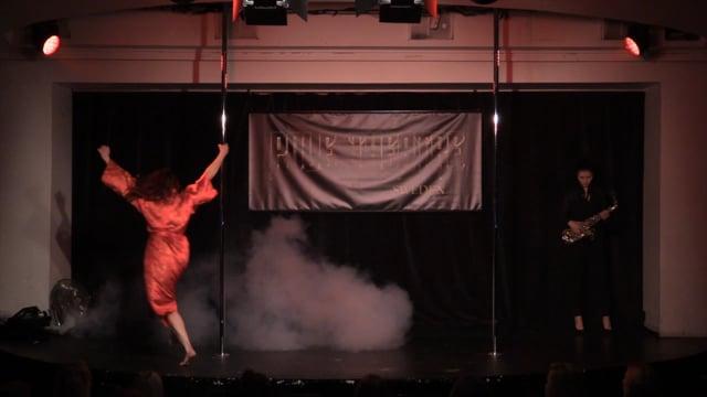 Pole Theatre Sweden 2015- Semi Pro Drama Jenni Multisilta