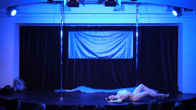 Pole Theatre Sweden 2015- Professional Classique Anna Maija Nyman