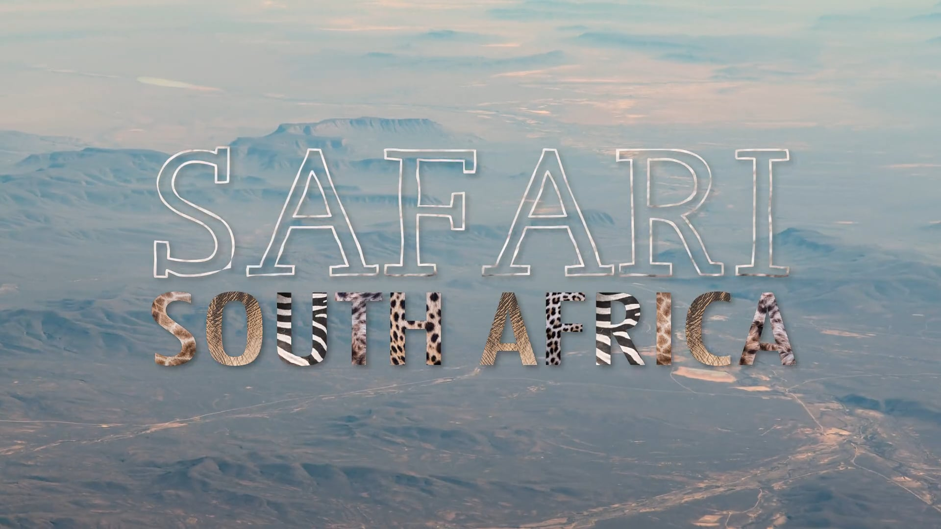 SAFARI South Africa   A Time-Lapse Film - In 4K