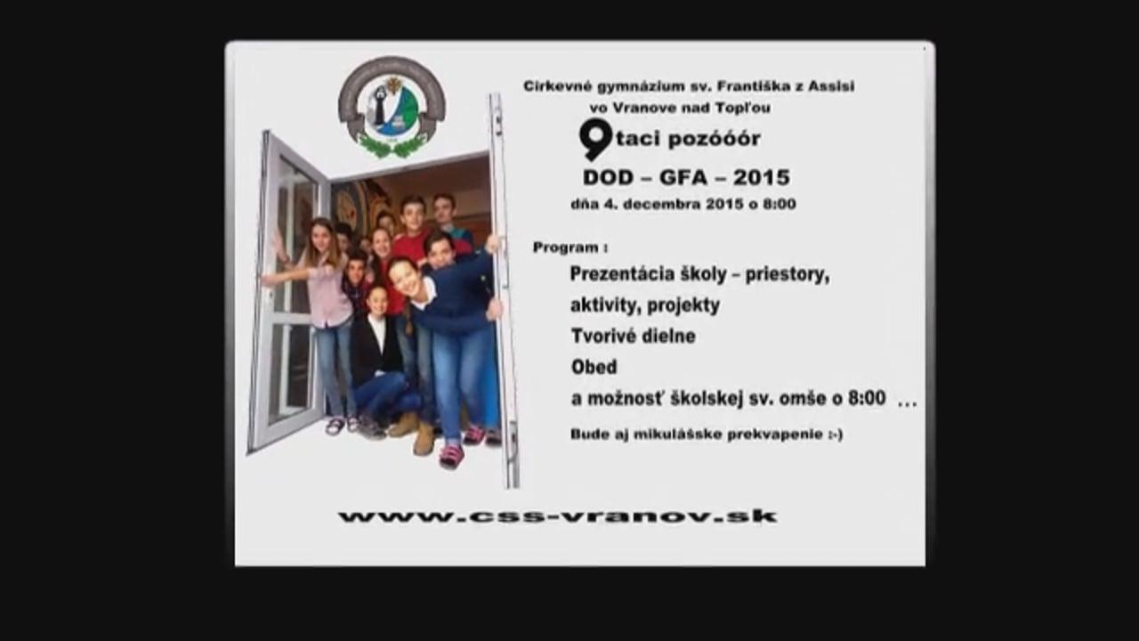Den otvorenych dveri GFA