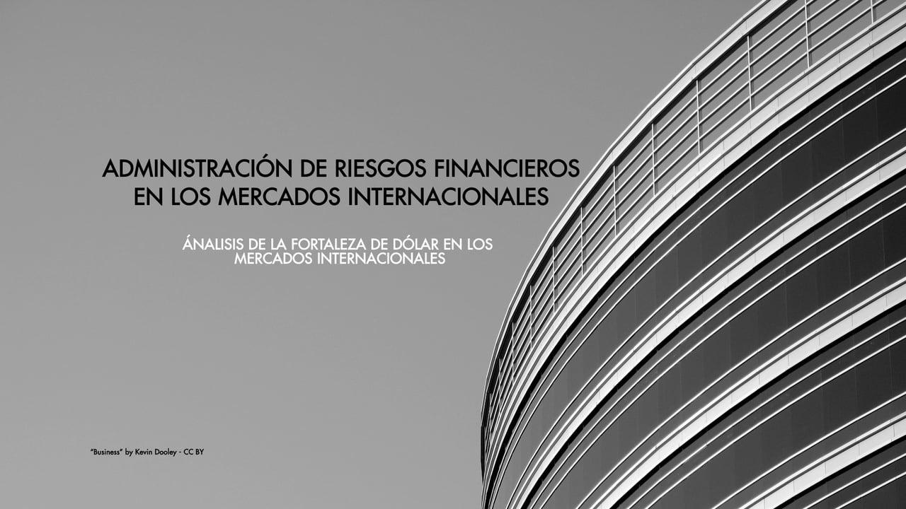 CIEF Consulting Charla Magistral con Germán Fermo: Análisis de la Fortaleza del Dólar en los Mercados Internacionales