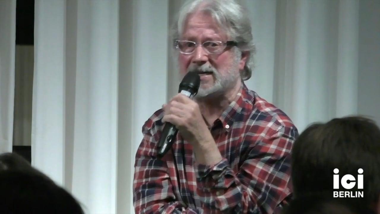 Discussion: Daniel Defert and Cord Riechelmann