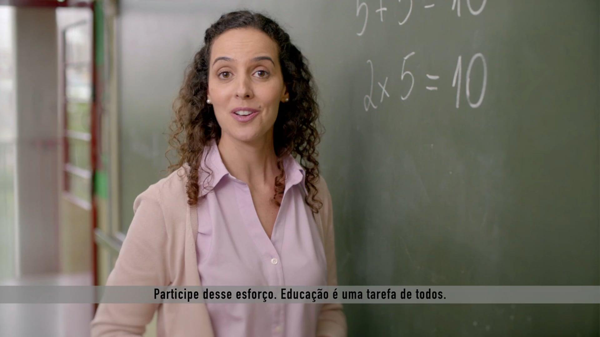 Atriz - Propaganda para a Prefeitura de São Paulo - Educação