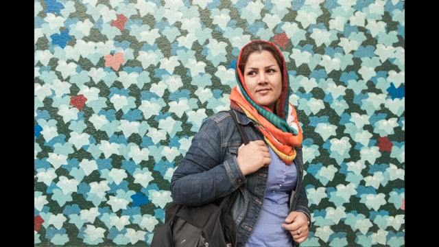 Amelie Losier . Sharmila . Afghan journalist and the freedom of press