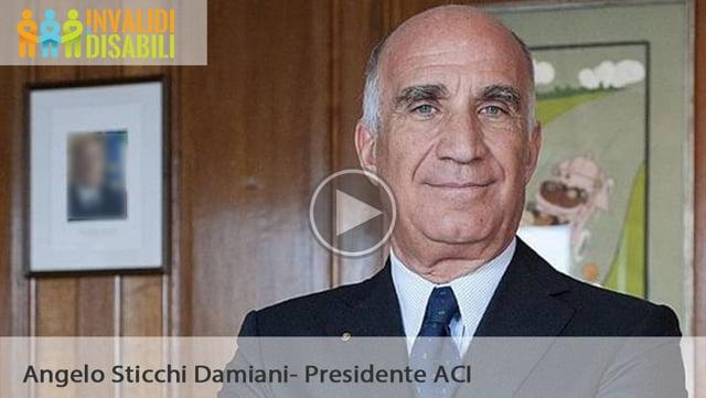 Patente speciale e adattamenti auto: Intervista a Angelo Sticchi Damiani, presidente ACI