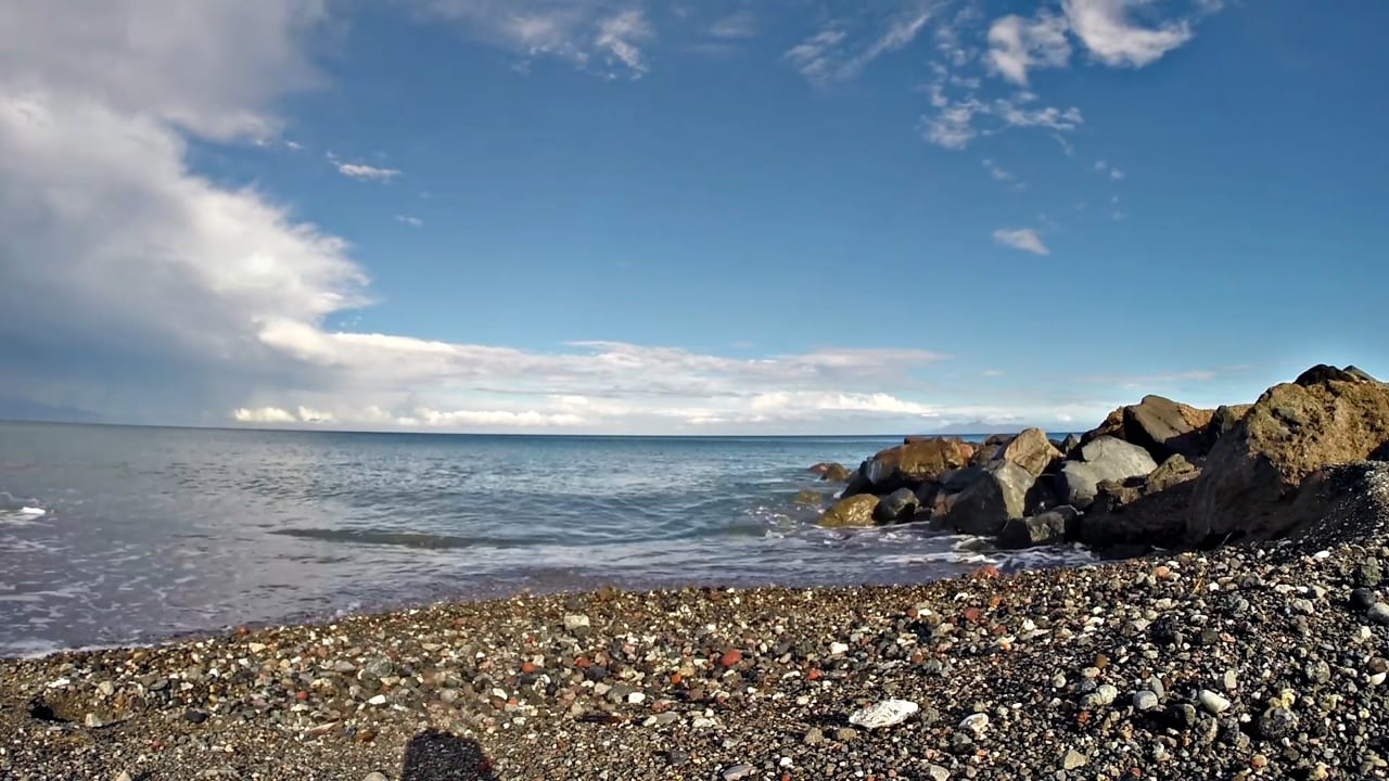 Timelapse video - monolithos Beach - Rainbow | Santorini 2015