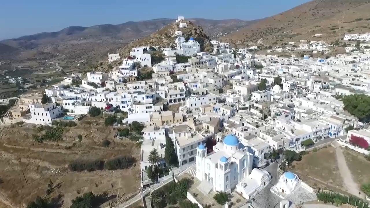 Hotel Markos - Promo Aerial video | Ios 2015