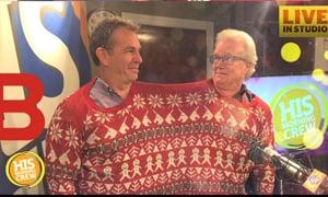 Revealing Jim & Rob's Christmas Card Clothes
