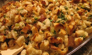 Stuffing or Dressing? This Recipe Sounds Yummy