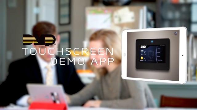 DMP Touchscreen Demo App