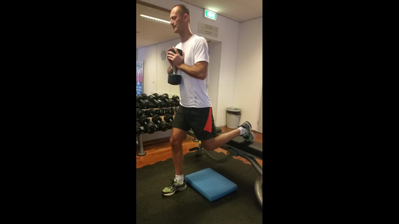 One leg squat Fons