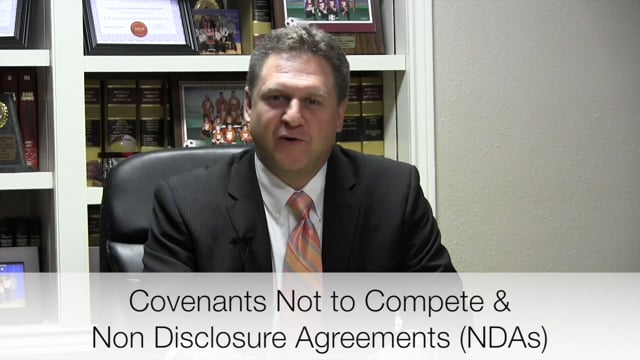 Covenants Not to Compete - NDAs - Business Lawyers Wharton Richmond
