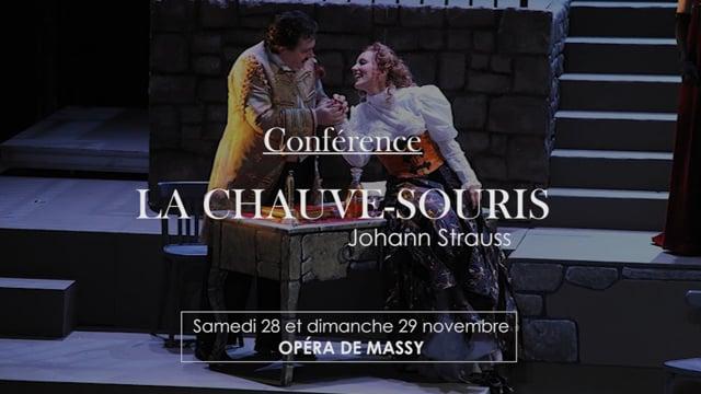 Conférence La Chauve-Souris de Johann Strauss par Véronique Audoli