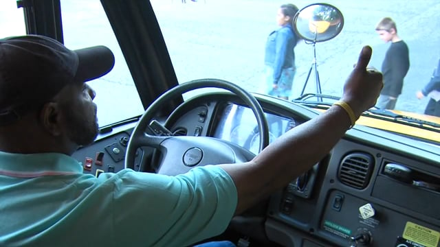 Crossing Signal and Parking Brake - For School Bus Drivers