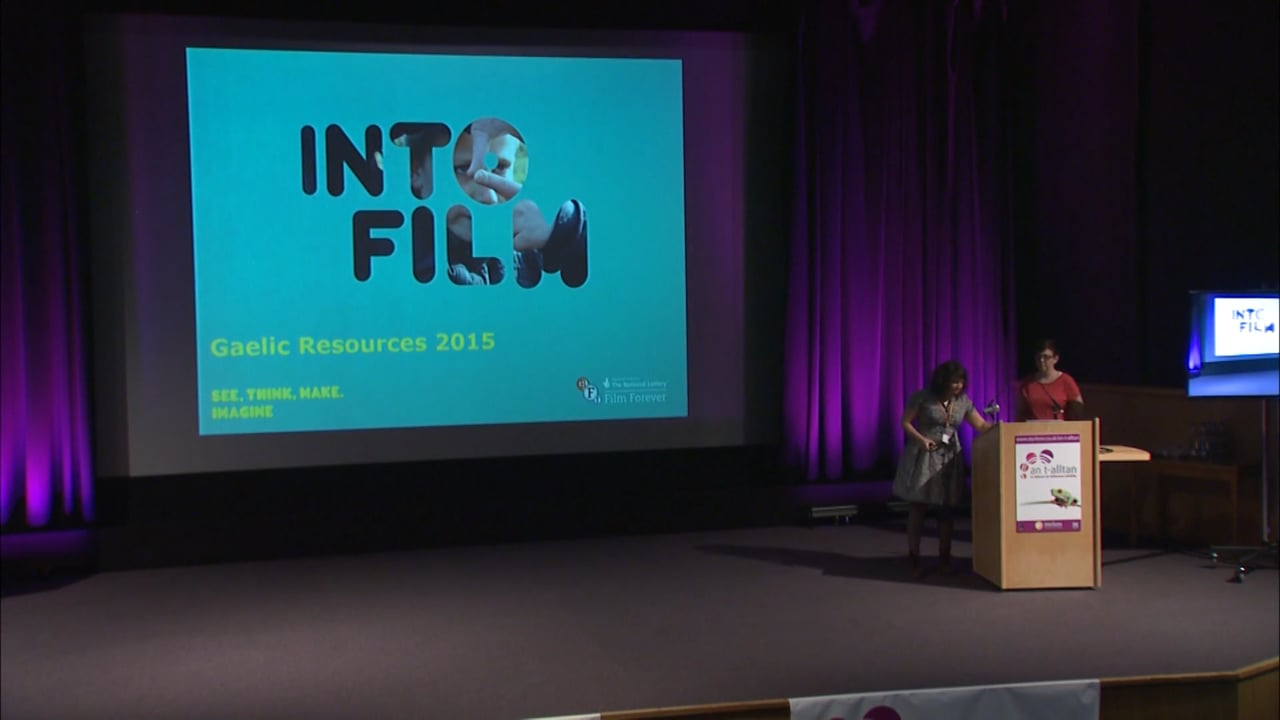 An t-Alltan 2015 - Into Film