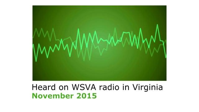 Izaak Walton League of America -- radio interview