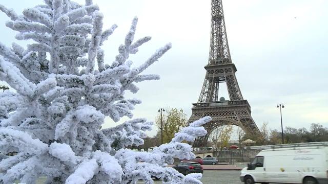 COP21 Paris Climate Agreements B-Roll