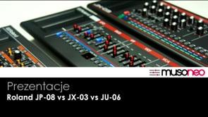 Roland Boutique JP-08 vs JU-06 vs JX-03