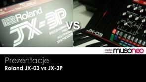 Roland JX-03 vs JX-3P