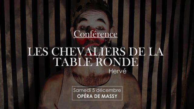 Conférence Les Chevaliers de la Table Ronde par Jean-Louis Fabre