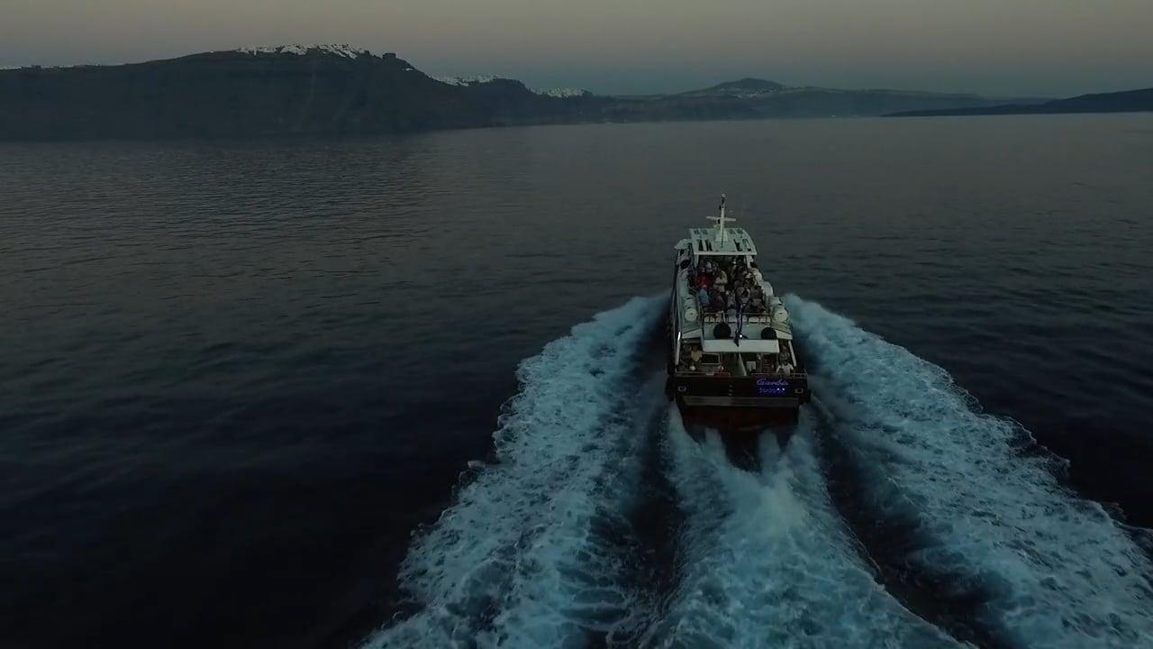 From Santorini to Ios Cruise - Promo Aerial Video | Santorini 2015