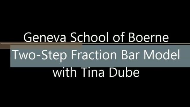 Two-Step Fraction Bar Model