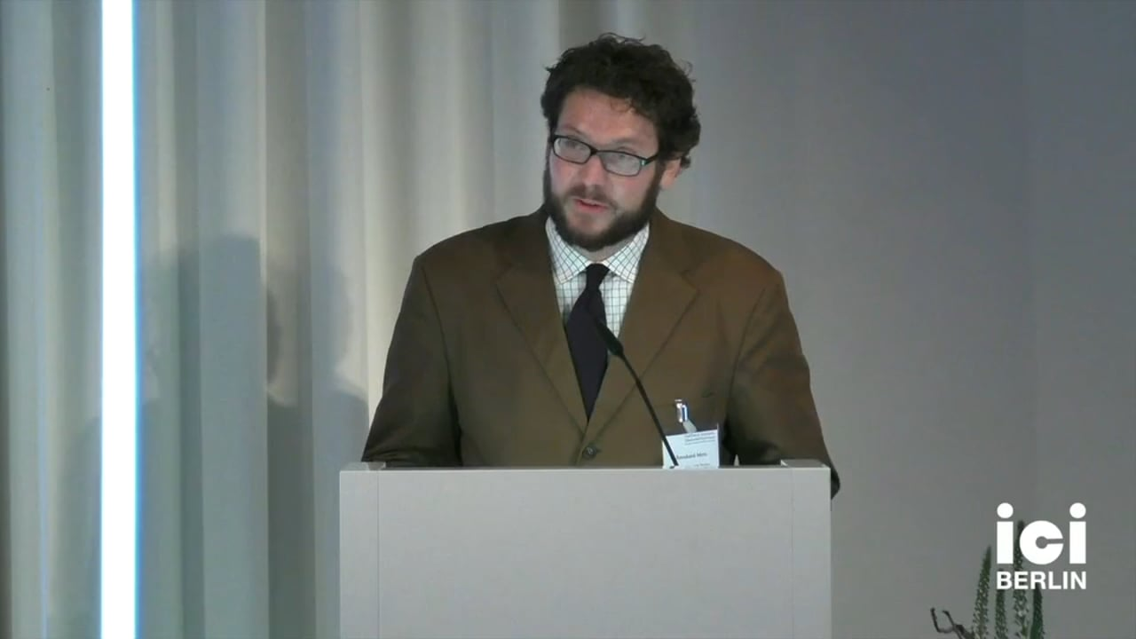 Gastfeindschaft: Einfuehrung Bernhard Metz [Part 2]