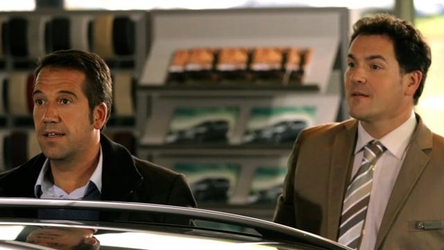 """DAIMLER AG: """"CSI-TV-Studio 3"""" (ENGLISH)"""