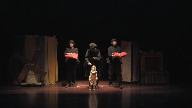 Aventuras de Don Quijote, El Retablo_clip promocional