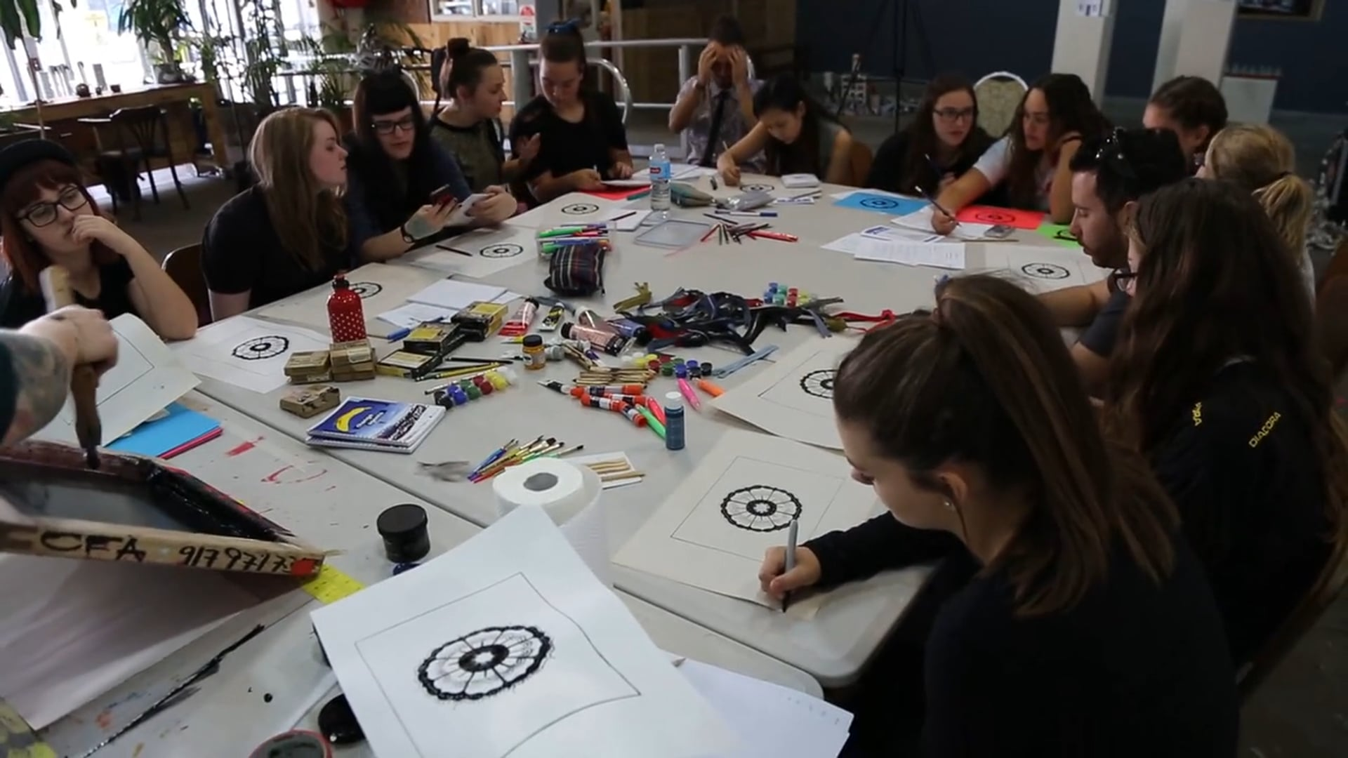 Citizens For The Arts Workshops in Sydney with I-Manifest