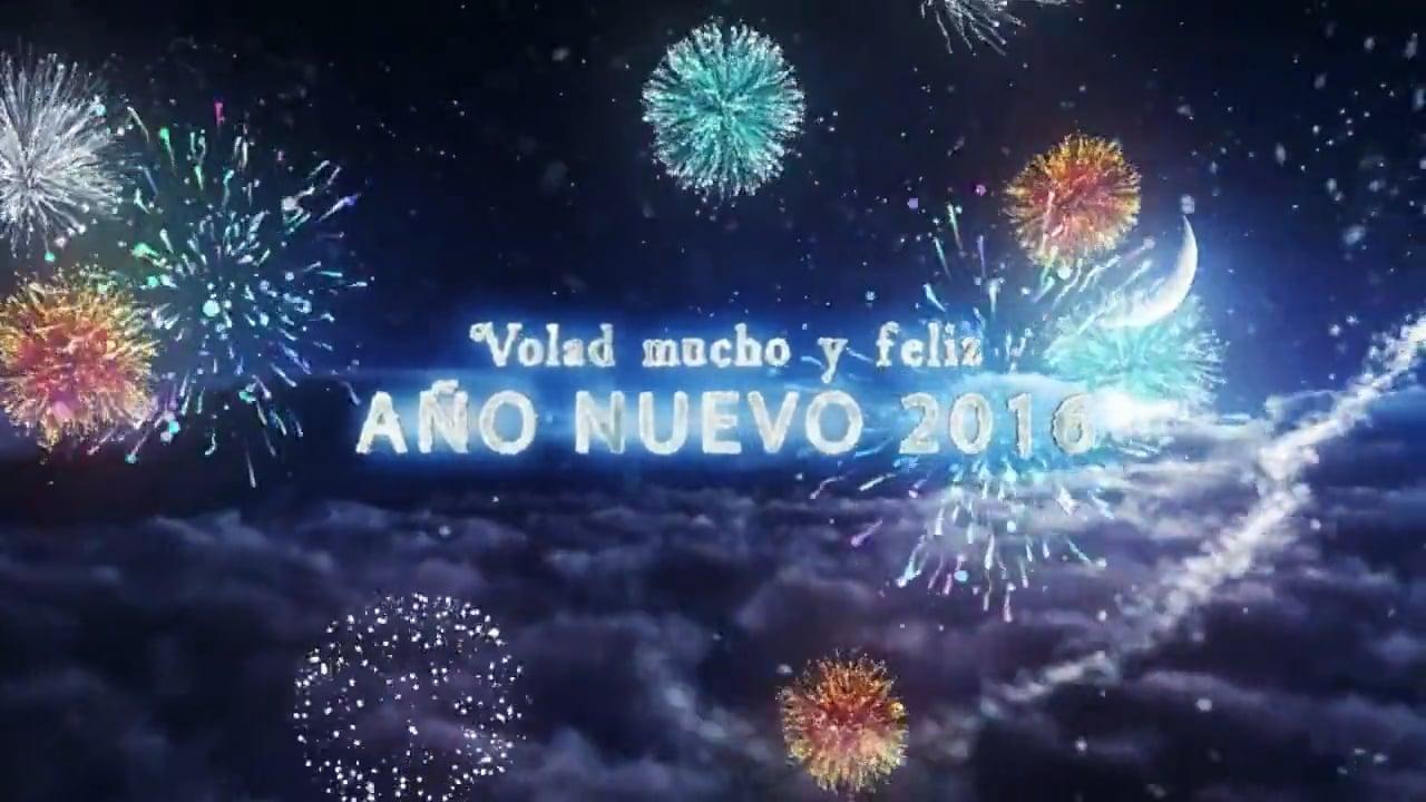Felices Fiestas de Solsticio de Invierno 2015 y Feliz Año Nuevo 2016. de parte de AeroTV y Aviación ULM o Ultraligera.