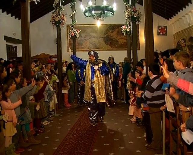 Promulgación de los Reyes Magos  año 2006.