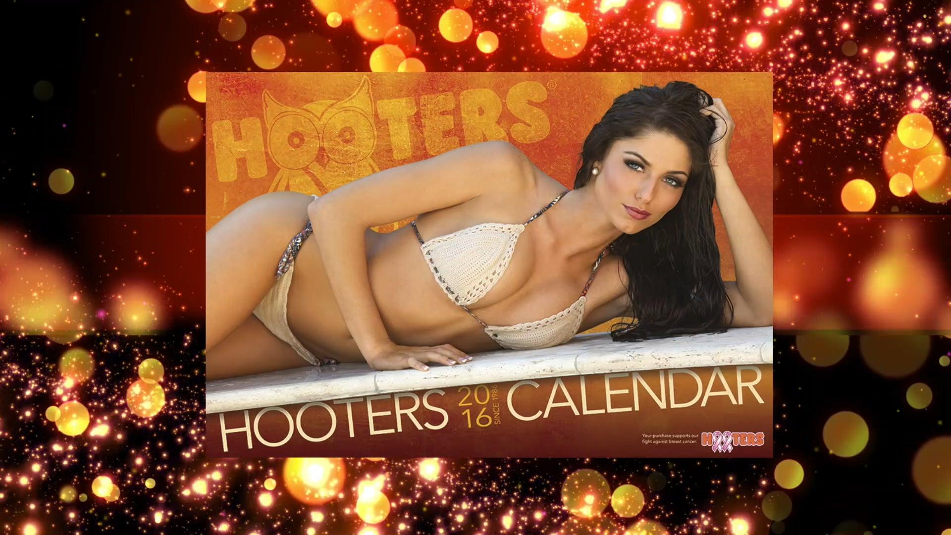 Hooters Calendar Promo 2016
