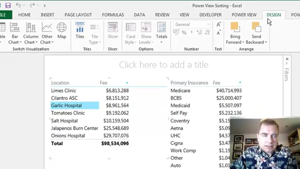 Excel Video 488 Power View Filtering Using Charts