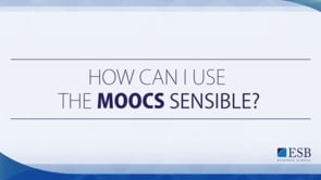 How to use MOOCs in your teaching?
