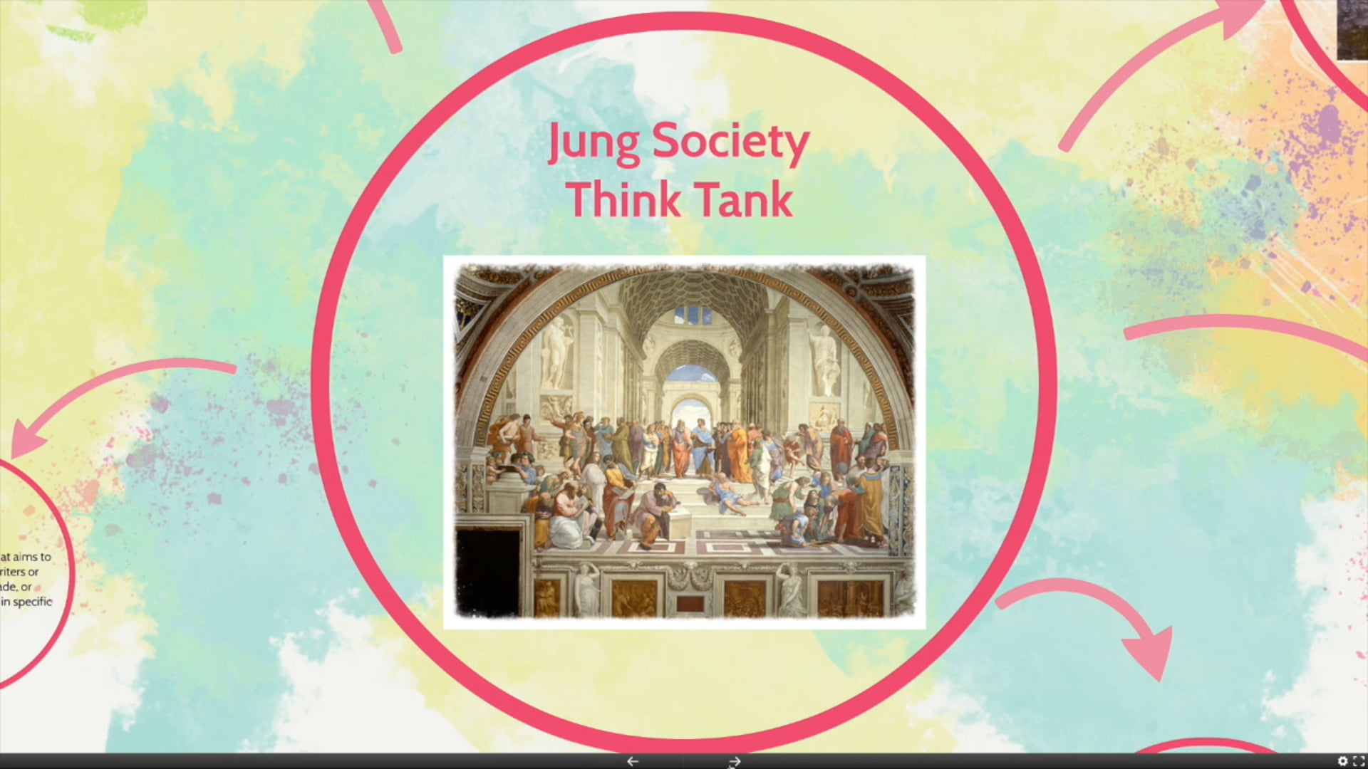 Jung Society Think Tank Introduction