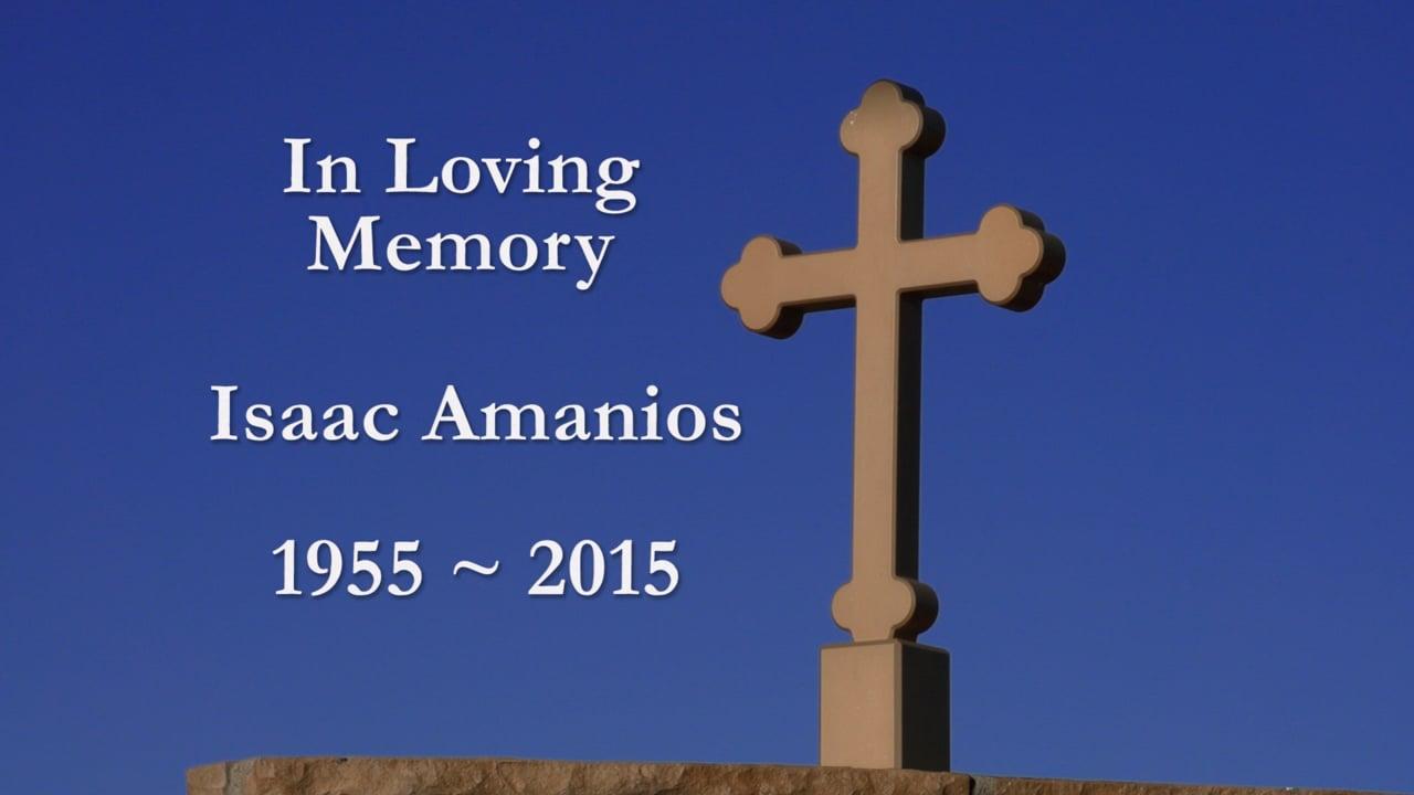 Issac Amanious Memorial at St. Minas Orthodox Church in Colton, California